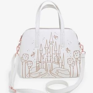 Loungefly Sleeping Beauty Castle Dome Satchel Bag